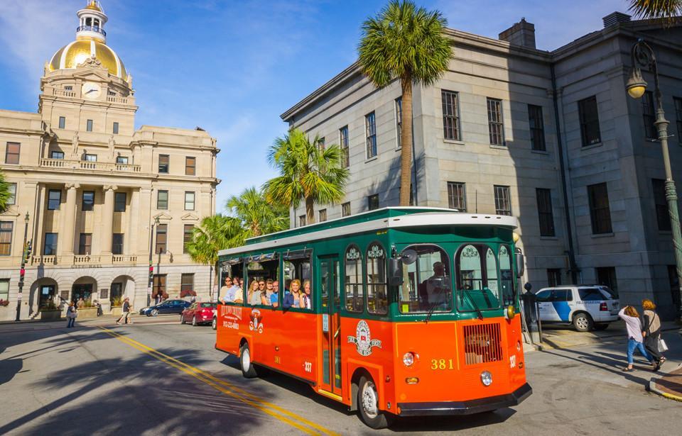 Trolley Tours Savannah