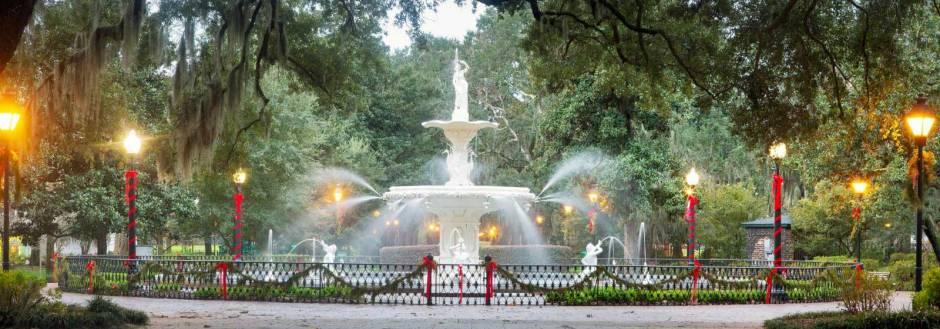 Holidays in Savannah, GA